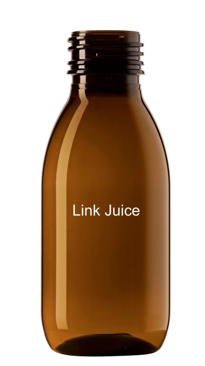 bottle of link juice